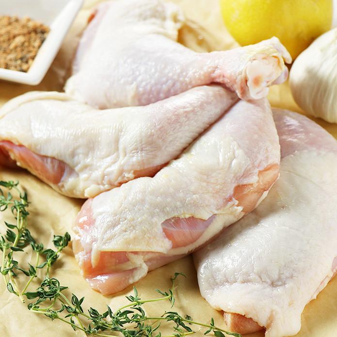 骨付き鶏もも肉 チキンレッグ 200g×4本