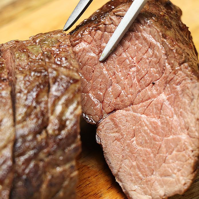 ダチョウ ランプ肉 ブロック 1kg