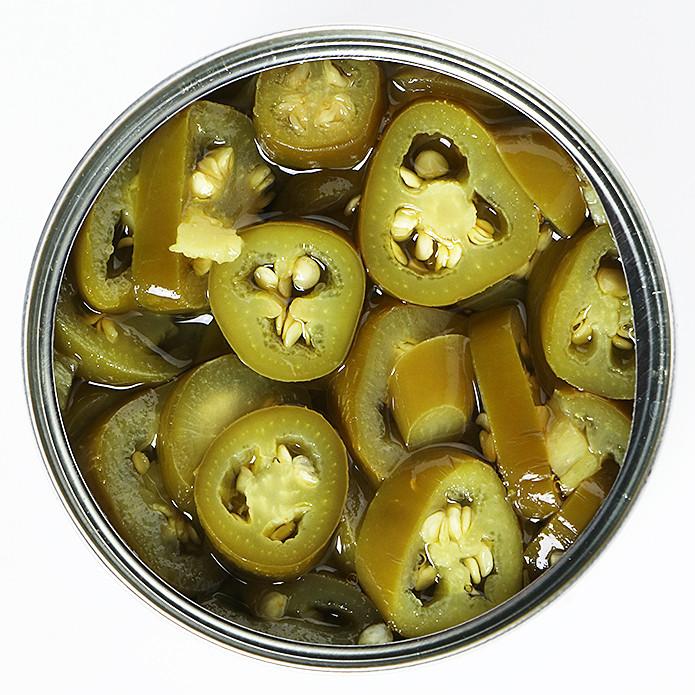 ハラペーニョスライス 青唐辛子の酢漬け 缶詰 220g