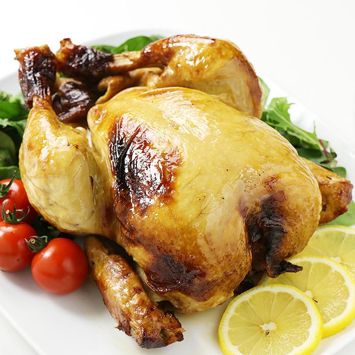 【国産銘柄鶏】錦爽どりの丸焼き ローストチキン (きんそうどり) 約1kg 4-5人前 調理済み