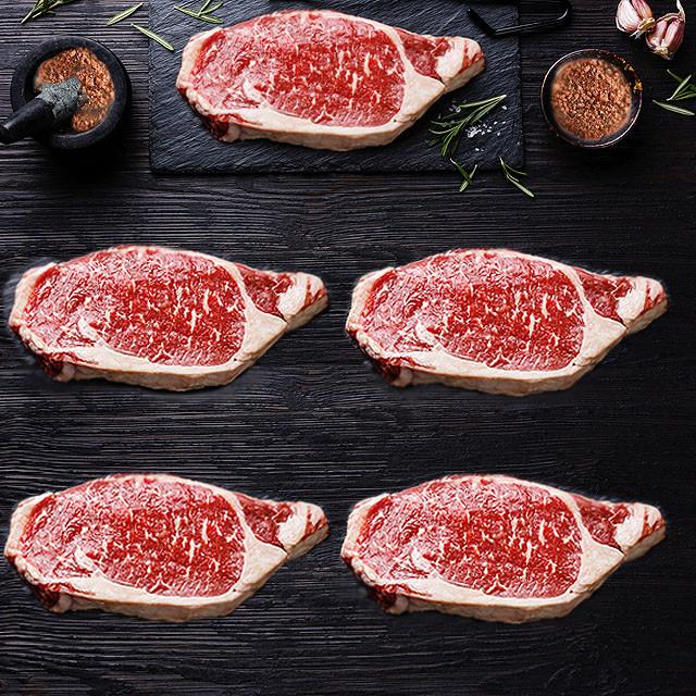 【20%OFF】USDAチョイス ビーフ サーロインステーキ 350g×5枚セット(スパイスのおまけ付き)