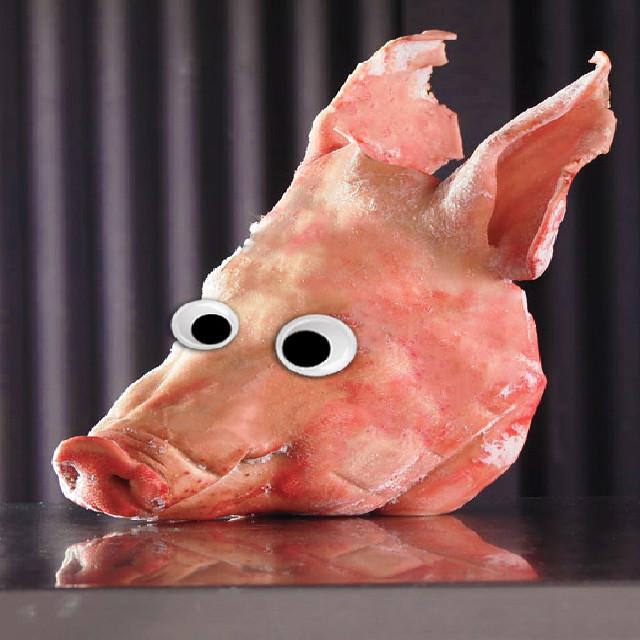 豚の頭 (チラガー含む) 3Kg
