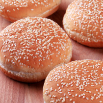 冷凍ハンバーガー用バンズ 4個