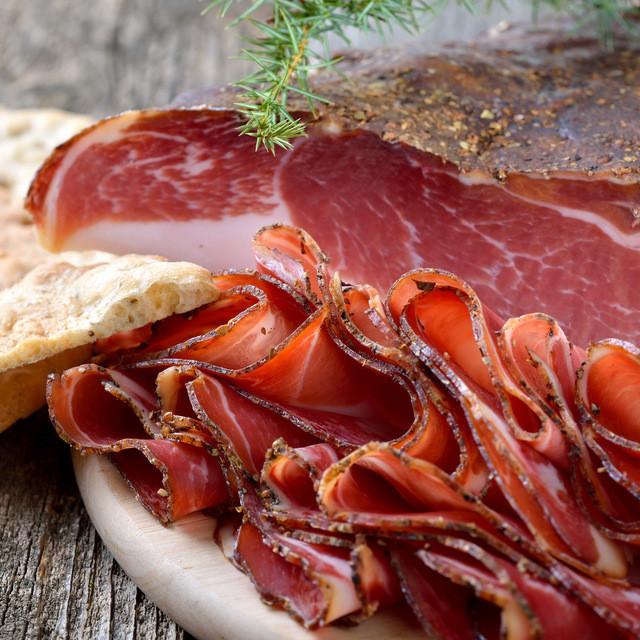 Smoked Austrian Handmade Kaiser Bacon Slices - Finest Quality Bacon