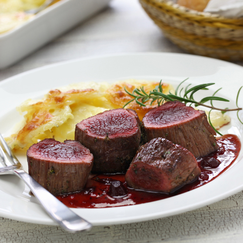 Venison (Deer) Loin Steak 250g