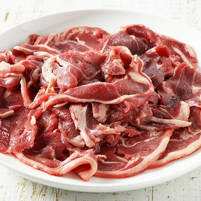 Sliced Lamb Shoulder (500g)