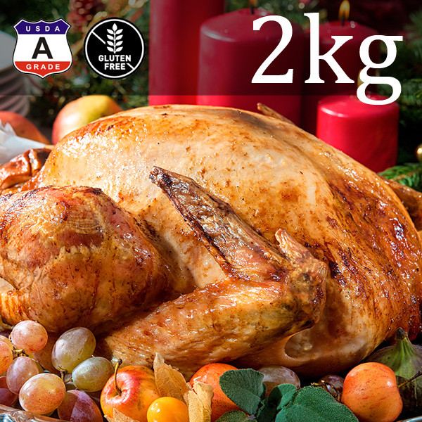 【Free Shipping】Young Wild Turkey 2kg (2-4 People)