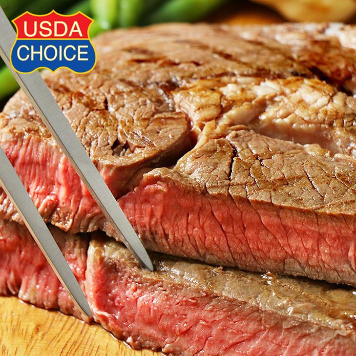 NEW SIZE! USDA Choice Ribeye Steak (350g)
