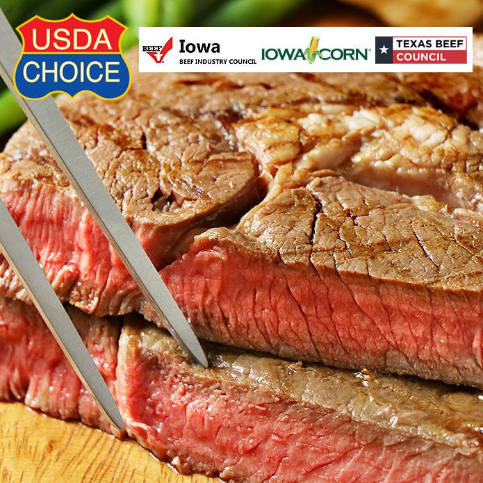 NEW SIZE! USDA Choice Ribeye Steak (350g)