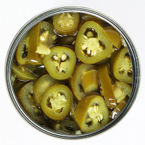 Canned Jalapeño Slices 220g