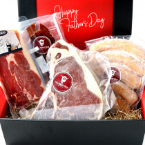 (Free Shipping)Father's Day Gift!  T-Bone Steak and Otsumami Set! 1.4kg
