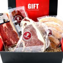 (Free Shipping T-Bone Steak and Otsumami Set! 1.4kg