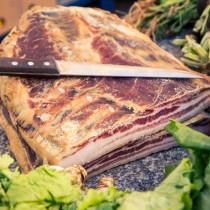 Original Austrian Handmade Kaiser Bacon Block - Finest Quality Bacon