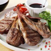 New Zealand Lamb Chops - 5 Chops (approx. 260g)