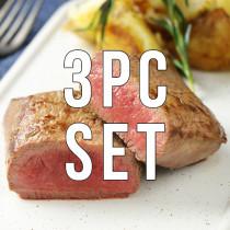 【Free Shipping】Lamb Shortloin Block 200g×6pc + Free Stake spice