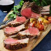 New Zealand Lamb Rack Frenched (450g) + Free Lamb Rub Spice