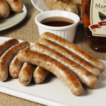 All Natural Maple Syrup Breakfast Sausages - No Sugar (9pc)
