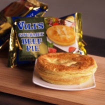 Vili's Beef Meat Pie - Whole Case(24PC)