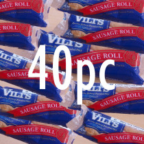 New & Exclusive! Vili's Imported Original Australian Sausage Roll  40pc Case
