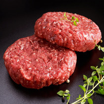 100% Grass-Fed Beef Hamburger Steak Pre-Spiced (300g)