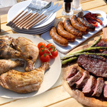 (Free Shipping) BBQ Party Value Set for 2.5kg