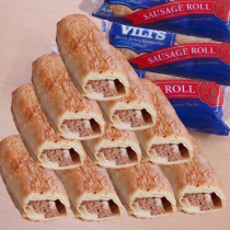 (FREE SHIPPING) Vili's Imported Original Australian Sausage Rolls Value Set