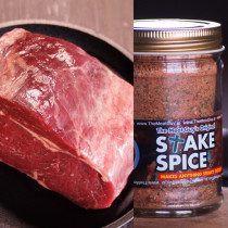 (FREE SHIPPING) Roast Beef Taster Set (Rib Roast with Steak Spice) First Time Buyer Recommendation!