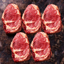 Ribeye Steak of New Zealand Beef (270g X 5PC) VALUE SET