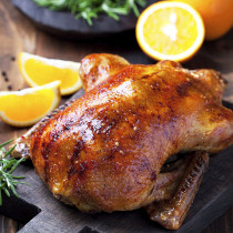 While Supplies Last! Precooked Turkey! 8-10lb (3-5kg) For 5-7 People (Gravy Included)