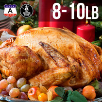 (Free Shipping) USDA A Grade Premium Whole Turkey 8-10 lbs. (4kg)