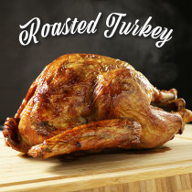 【FREE SHIPPING】While Supplies Last! Precooked Turkey! 8-10lb (3-5kg) For 5-7 People (Gravy Included)