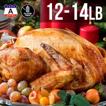 (Free Shipping) USDA A Grade Premium Whole Turkey 12-14 lbs. (6kg)