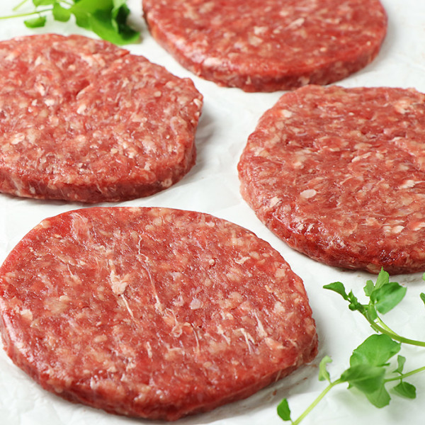 Beef Burger Patties (5kg Bulk Size)
