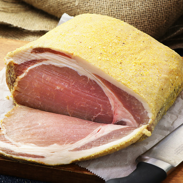 100% Natural Back Bacon (Block Size 800g)