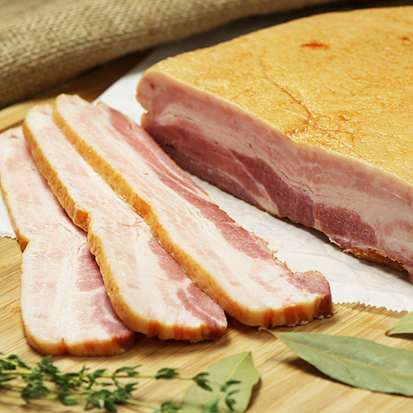 Smoked Bacon Block (900g)