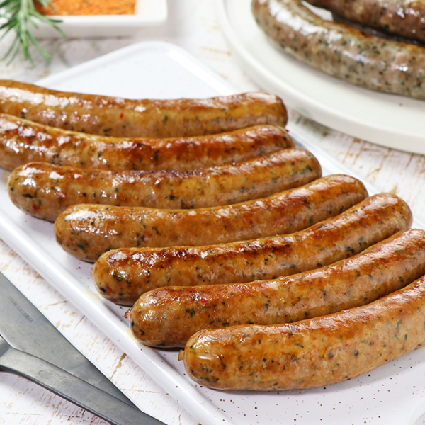 Marquez Lamb Sausage - Spicy Flavored  (49pc)