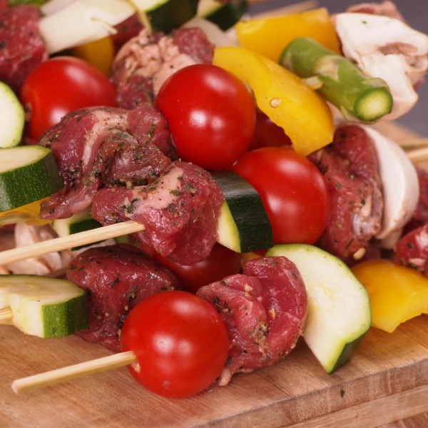 Spiced Lamb Cubes (150g + 10 Skewer Sticks)