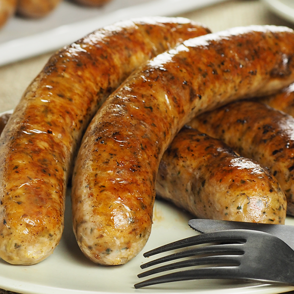 The Meat Guy Herb & Semi-Dried Tomato Sausage (5pc)