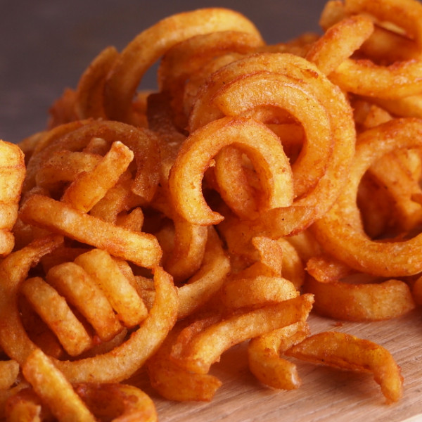 Spiral Potatoes (Curly Fries) (500g)