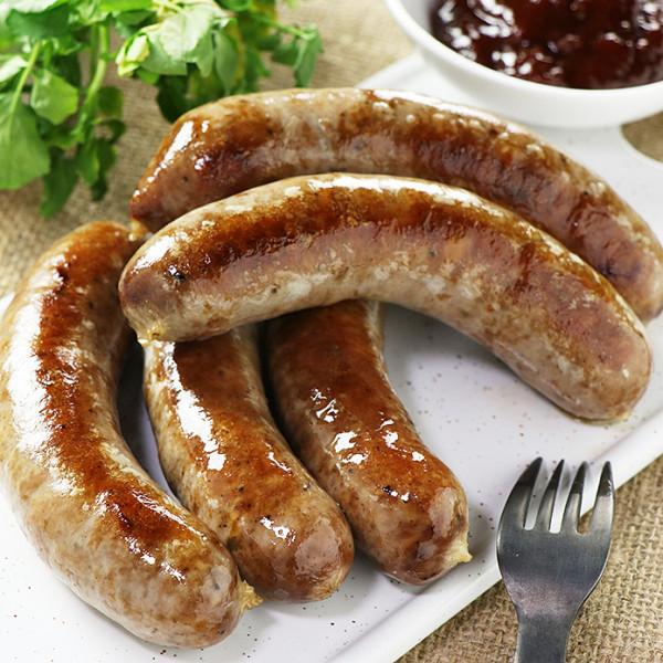 Smokey Beef/Pork Sausage - 100% Natural (5pc)