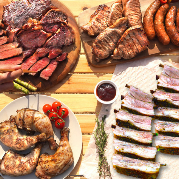(FREE SHIPPING) BBQ PARTY VALUE SET FOR 10-15 People