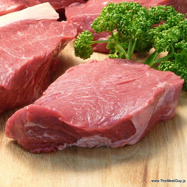 厚切りランプステーキ(牛ももステーキ)