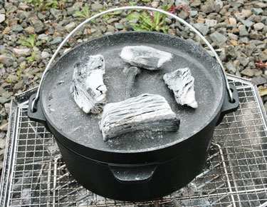 Let's make roast beef in a Dutch oven and enjoy the fun of BBQ