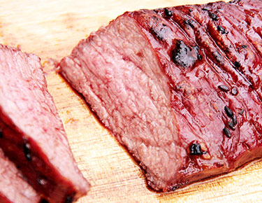 Smoked meat recipes for barbecue while camping