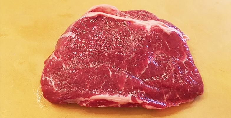 Seasoning the steak