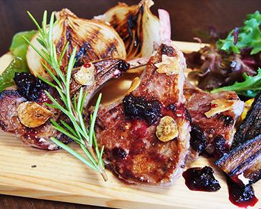Salted-Koji Lamb Chop Steak