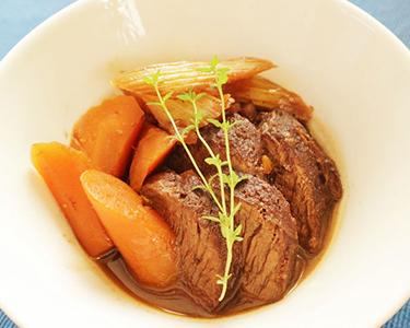 Red Wine Braised Kangaroo Stew