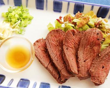Seared Kangaroo Meat