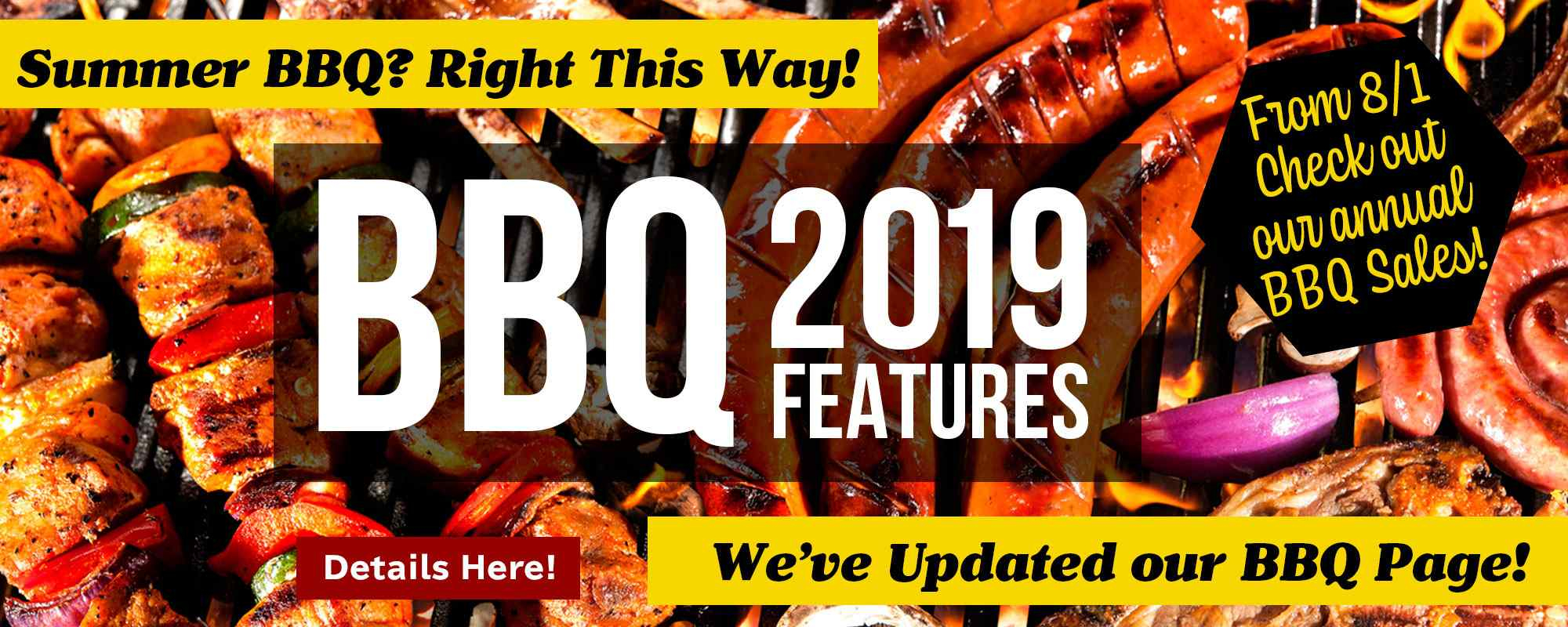 New BBQ page